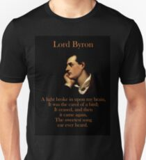 A Light Broke - Lord Byron Unisex T-Shirt