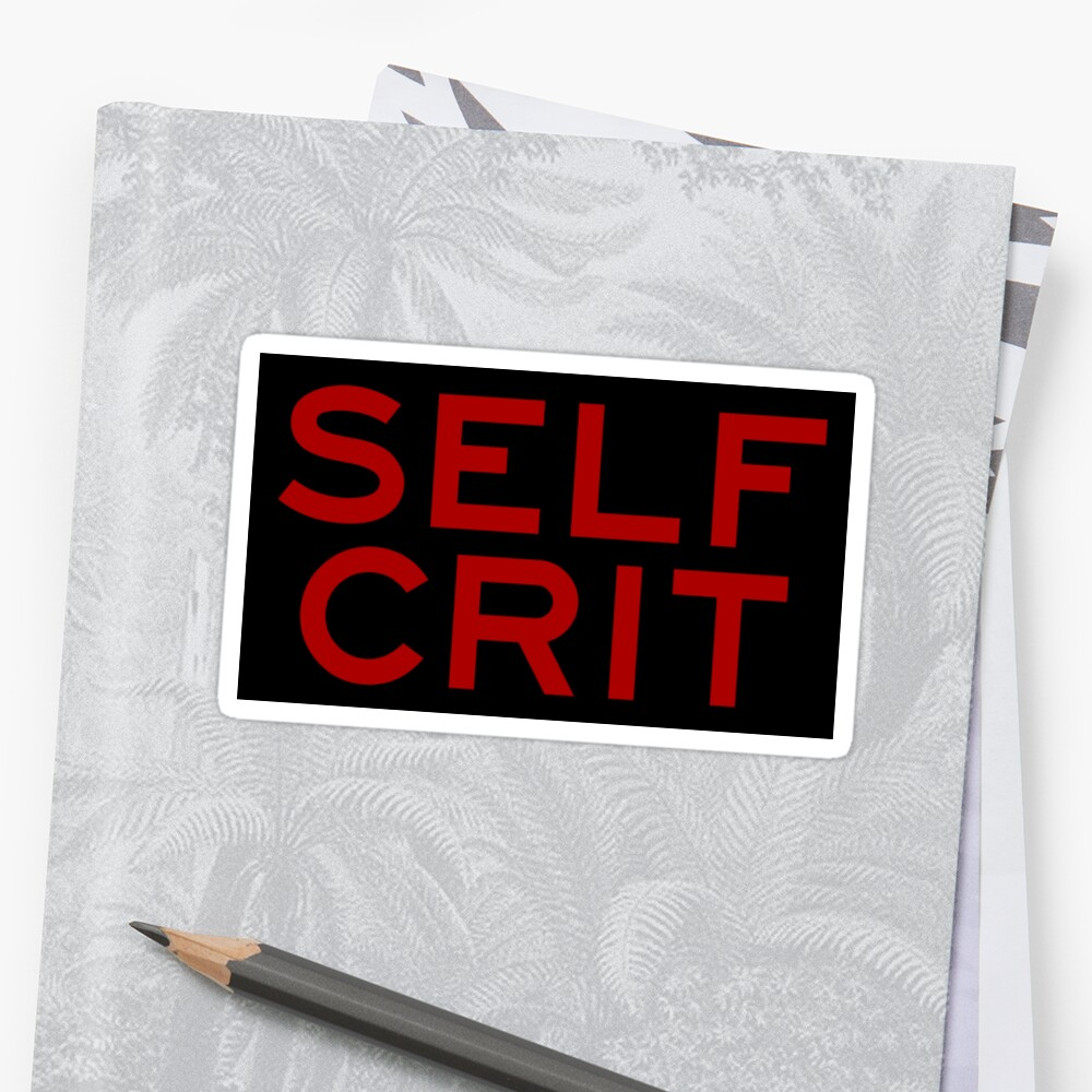 Self Crit by entroparian