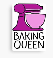 Baking Queen  Canvas Print
