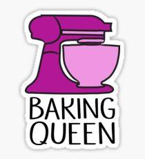 Baking Queen  Sticker
