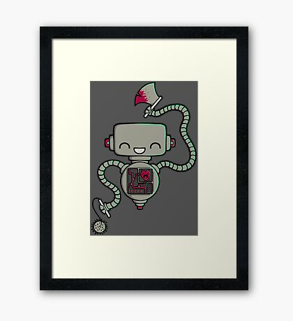 Happy Machine Framed Print