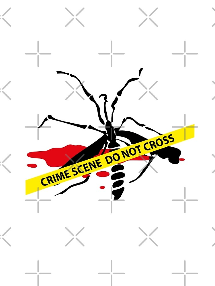 Crime scene mosquito by cglightNing