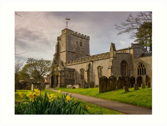 Holy Cross Church, Ramsbury by mlphoto