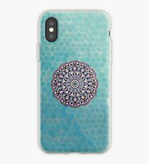 Yazd Mosque Tilework. iPhone Case