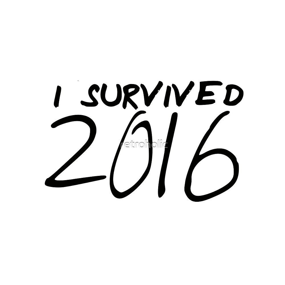 Survivor of the hell year 2016 by retroholic