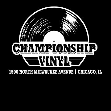 High Fidelity Championship Vinyl by astropop