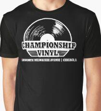 High Fidelity Championship Vinyl Graphic T-Shirt