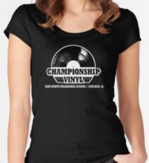 High Fidelity Championship Vinyl Women's Fitted Scoop T-Shirt
