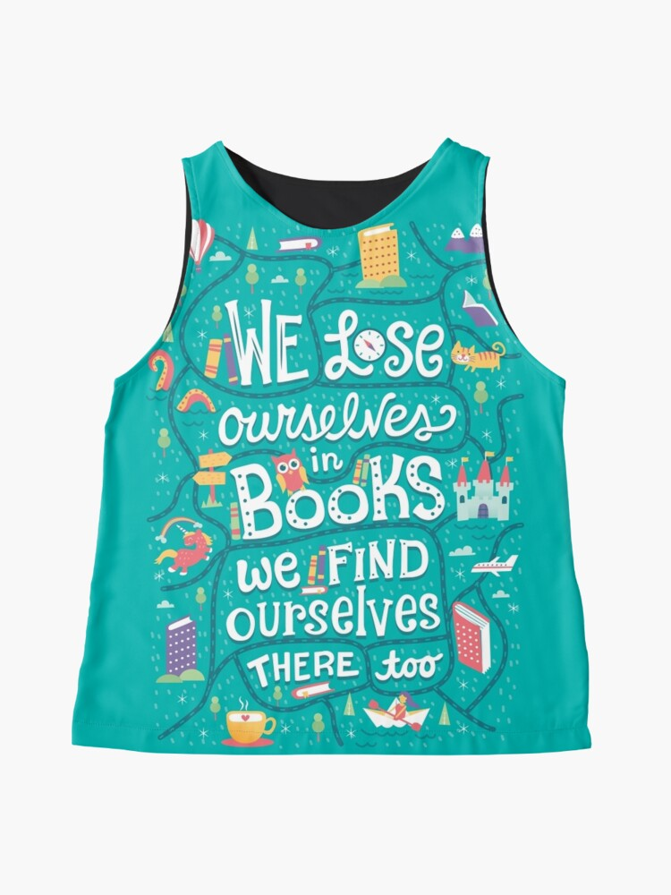 Alternate view of Lose ourselves in books Sleeveless Top