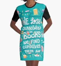 Lose ourselves in books Graphic T-Shirt Dress
