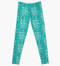 Lose ourselves in books Leggings