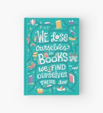 Lose ourselves in books Hardcover Journal