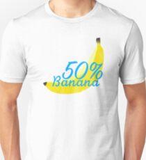 50% banana Unisex T-Shirt