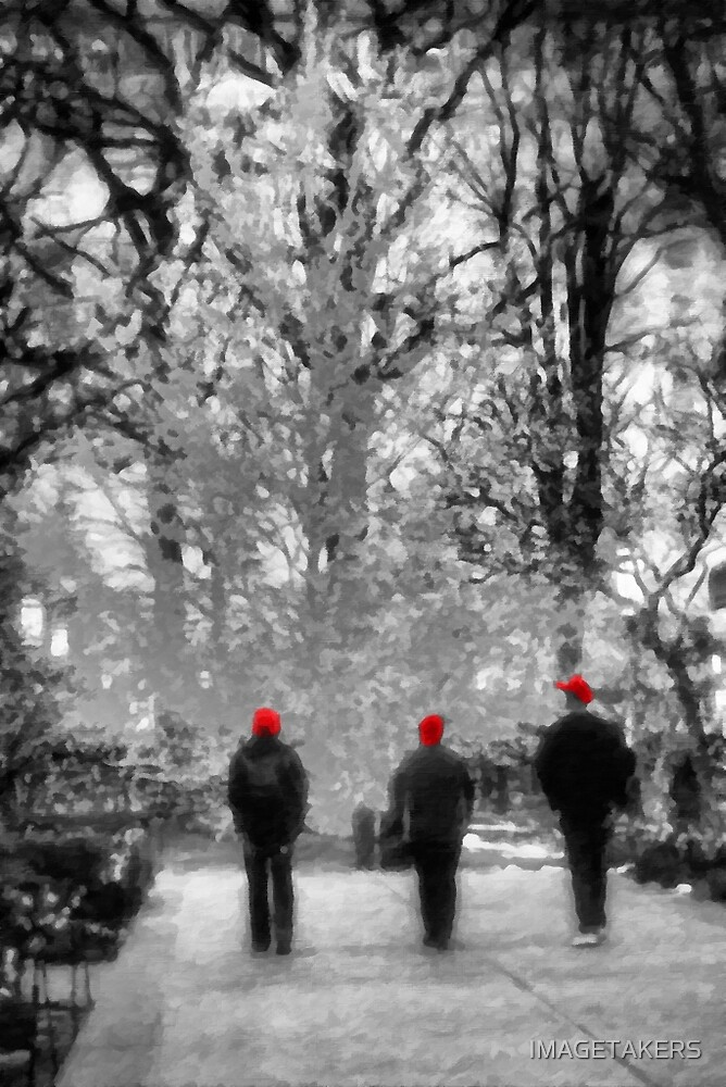 Salt Lake City - Red Hats by IMAGETAKERS