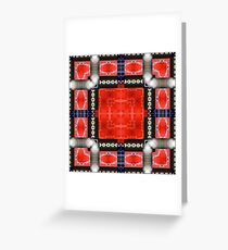 Red SUV Greeting Card