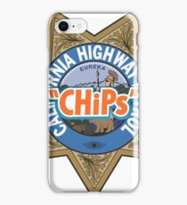 CHiPs Logo Classic Movies TV Series iPhone Case/Skin
