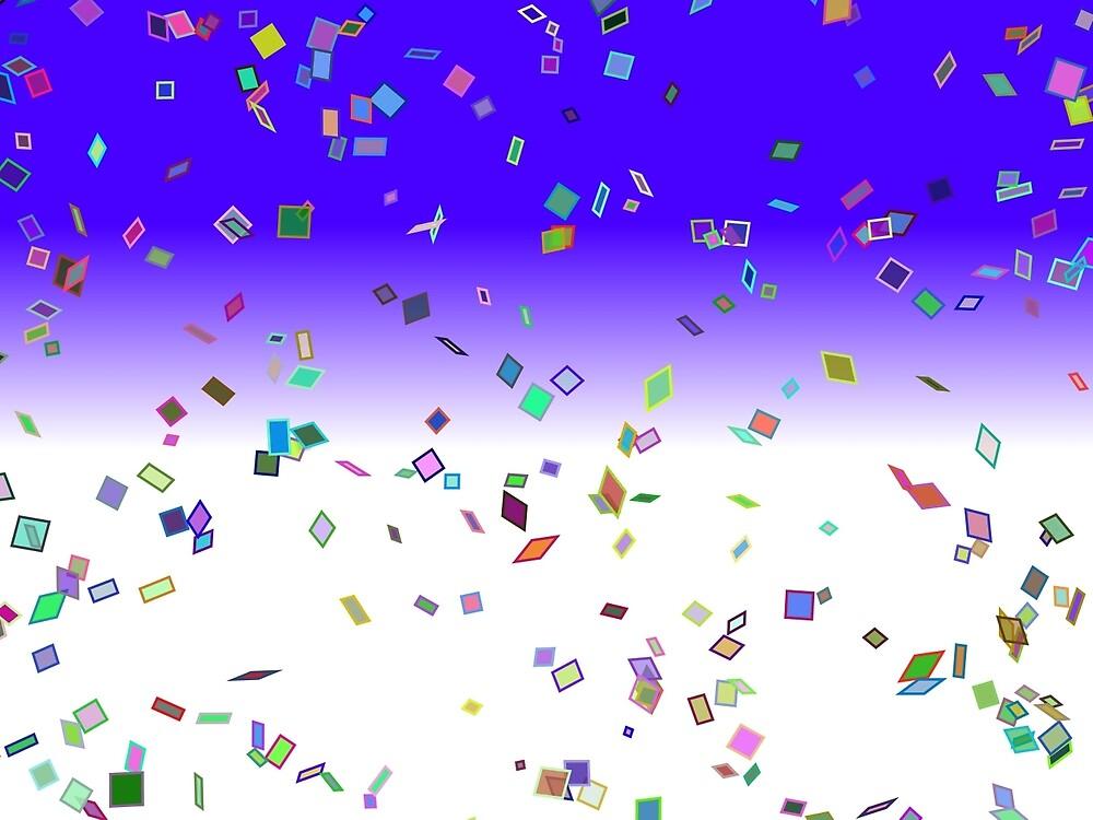 Birthday Party Confetti  by holidayfashion