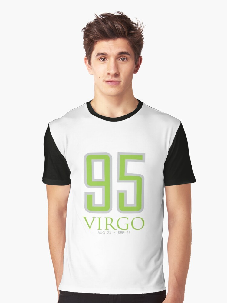 95 VIRGO Graphic T-Shirt Front