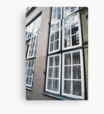 hansestadt windows Canvas Print