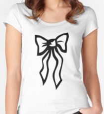 Bow Women's Fitted Scoop T-Shirt