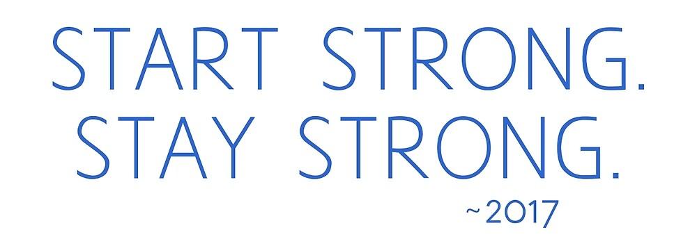 start strong blue by ProgenyofLight