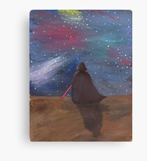 Darth Vader galaxy  Canvas Print