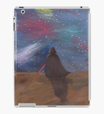 Darth Vader galaxy  iPad Case/Skin