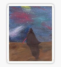 Darth Vader galaxy  Sticker