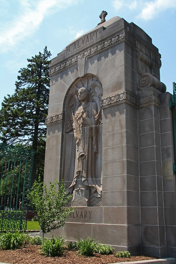 Calvary Cemetery Angel by Michiale