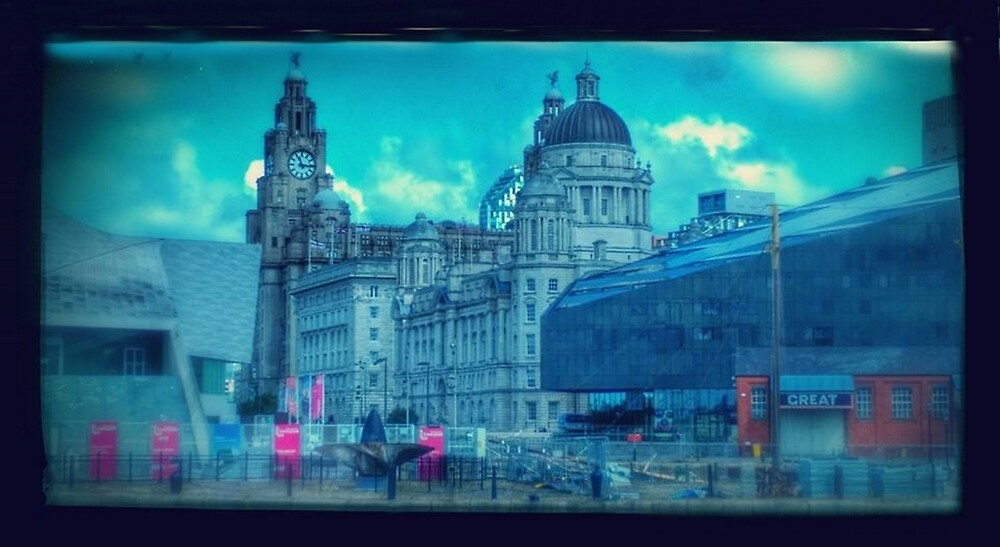 The Liverpool Docks by Alan Findlater
