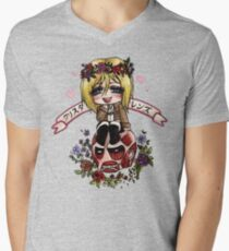 Christa Renz Mens V-Neck T-Shirt