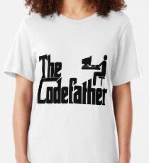 Der Codefather Slim Fit T-Shirt