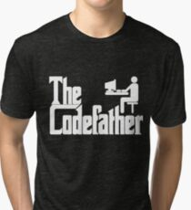 The Codefather Tri-blend T-Shirt