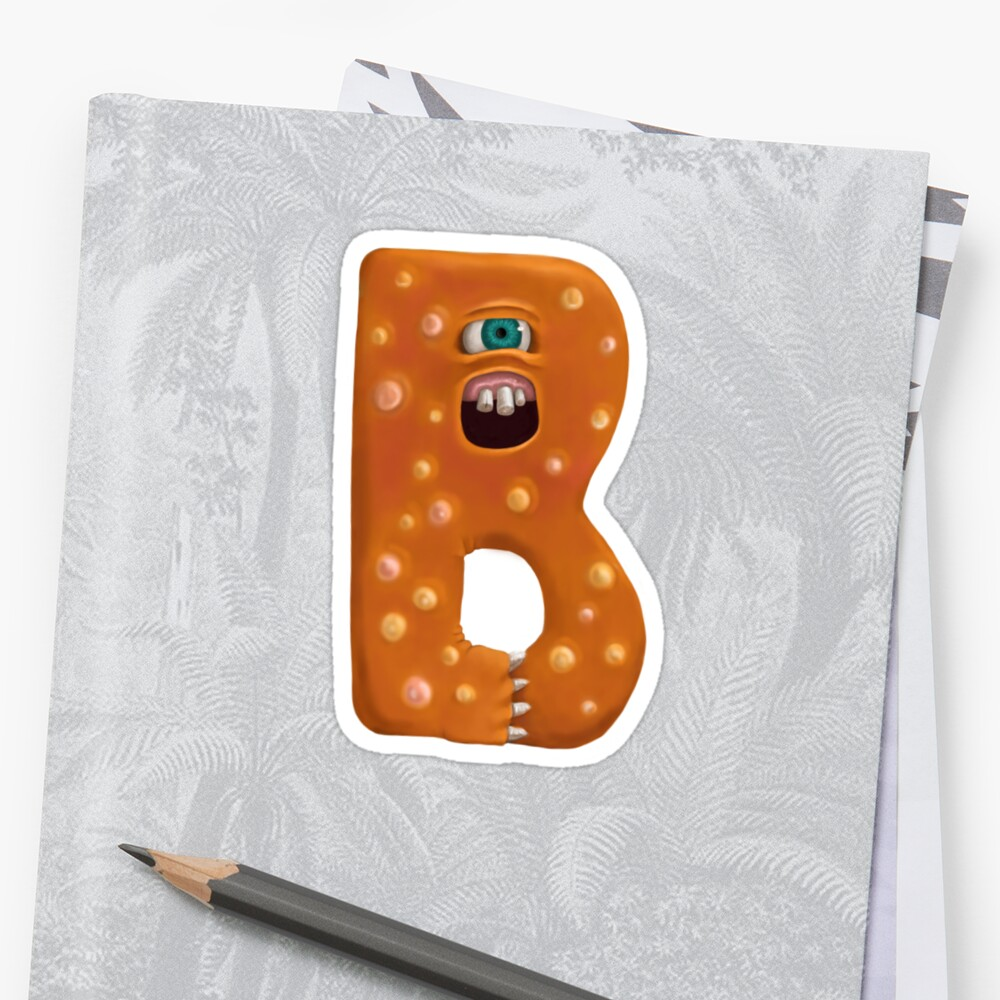Monster Letter B by Susan Robinson