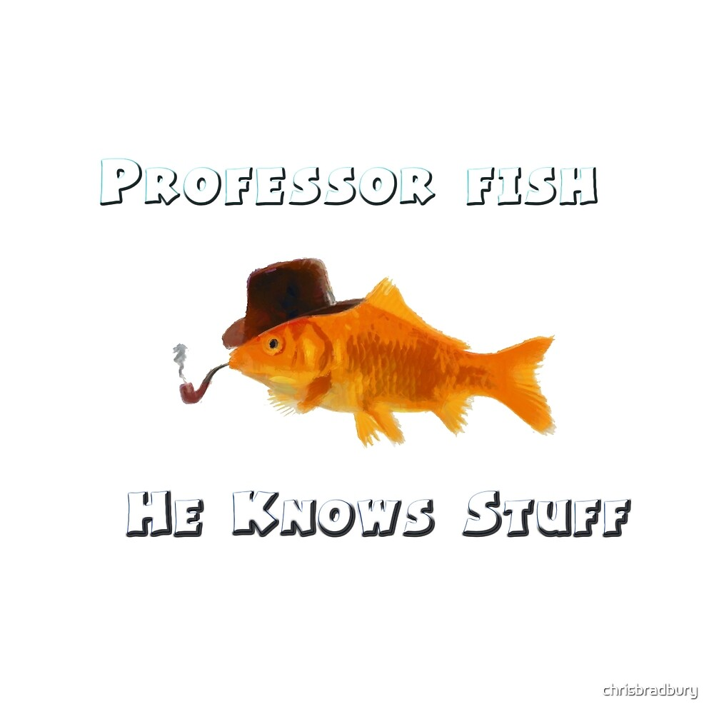 Professor Fish by chrisbradbury