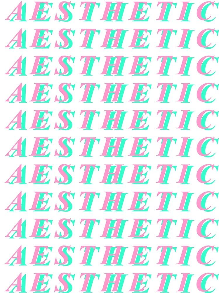 Repeated A E S T H E T I C by Bennie337