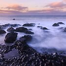 Giant's Causeway Sunset by Adrian McGlynn