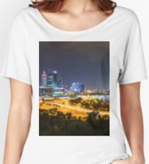 Perth City Skyline Women's Relaxed Fit T-Shirt