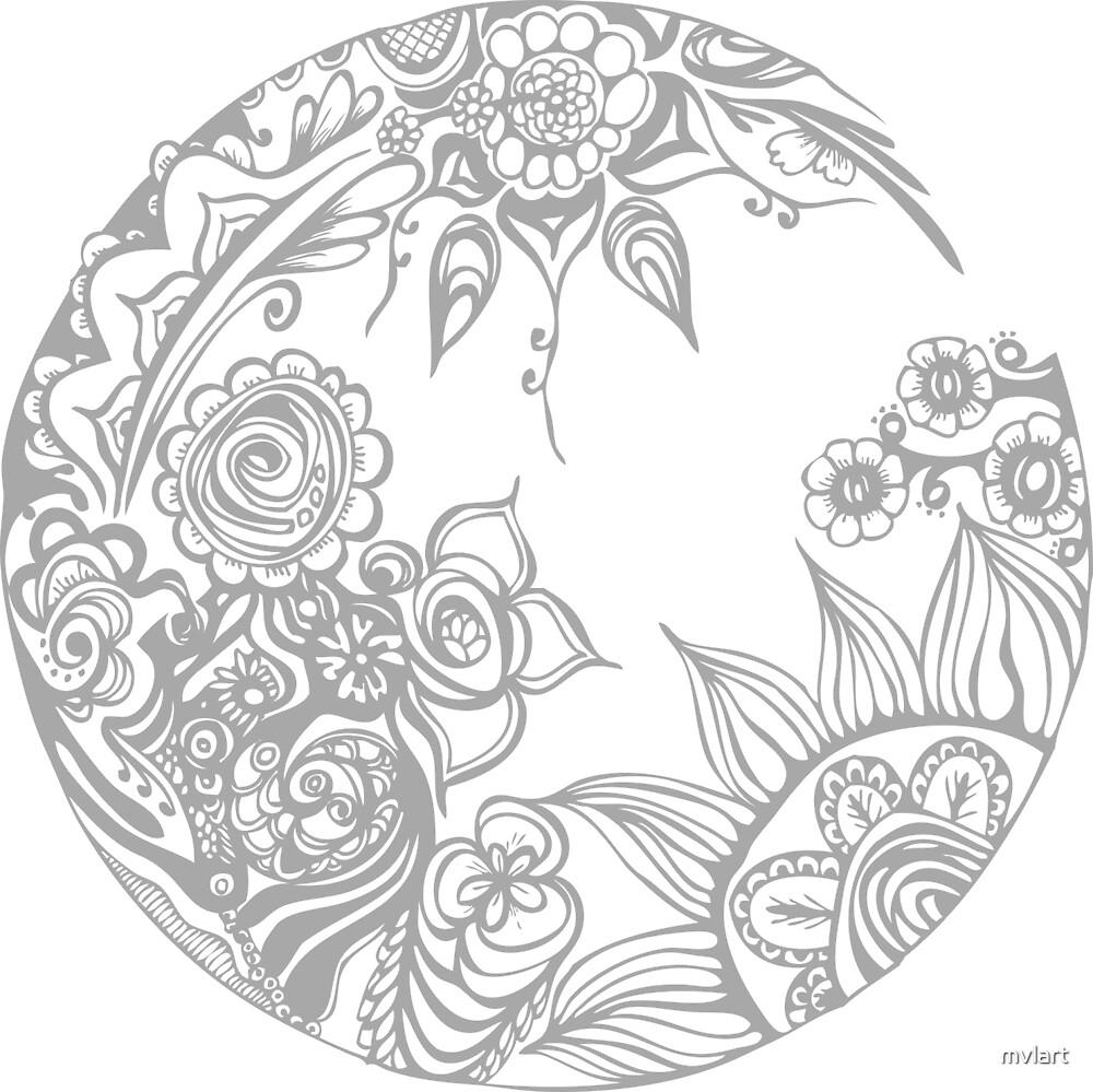 Mandala by mvlart