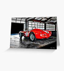 1958 Ferrari 250 GT Testa Rossa Greeting Card