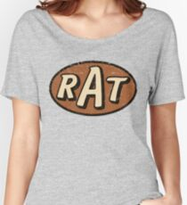 RAT - weathered/distressed Women's Relaxed Fit T-Shirt