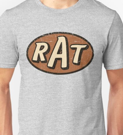 RAT - weathered/distressed Unisex T-Shirt
