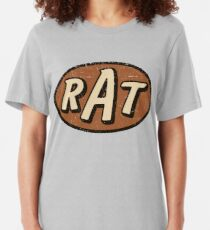 RAT - verwittert / distressed Slim Fit T-Shirt