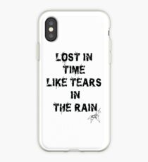 Blade Runner Lost in Time like Tears in the Rain iPhone Case