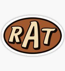 RAT - solid Sticker