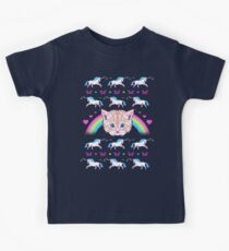 Most Meowgical Sweater Kids Tee