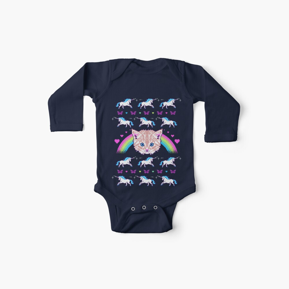 Most Meowgical Sweater Baby One-Pieces