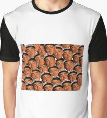 Rickie Fowler Ryder Cup Face No One to Kiss Graphic T-Shirt