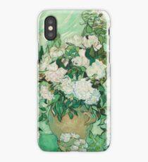 Vincent Van Gogh - Roses 1890 iPhone Case/Skin