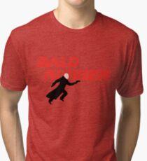 Bald Runner Humour Funny Blade Runner Comic Joke Tri-blend T-Shirt